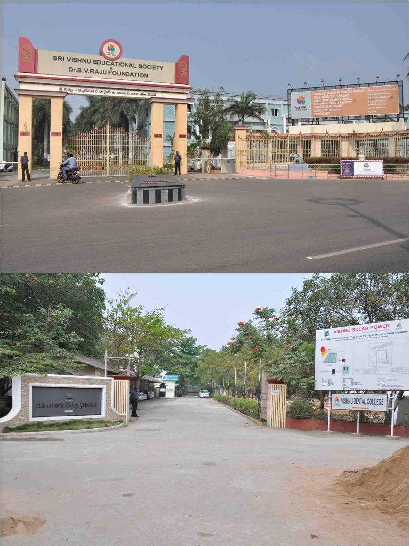 Vishnu Dental College West Godavari