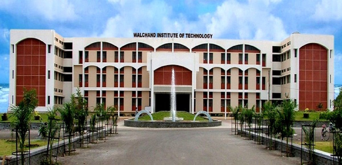 Walchand Institute Of Technology Wit Solapur Admissions