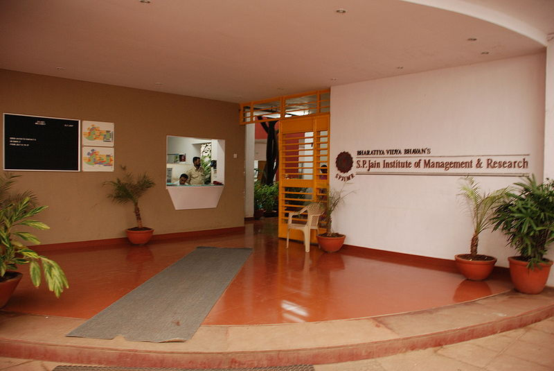 Fee Structure of Sp Jain Institute Of Management And Research (SPJIMR) Mumbai