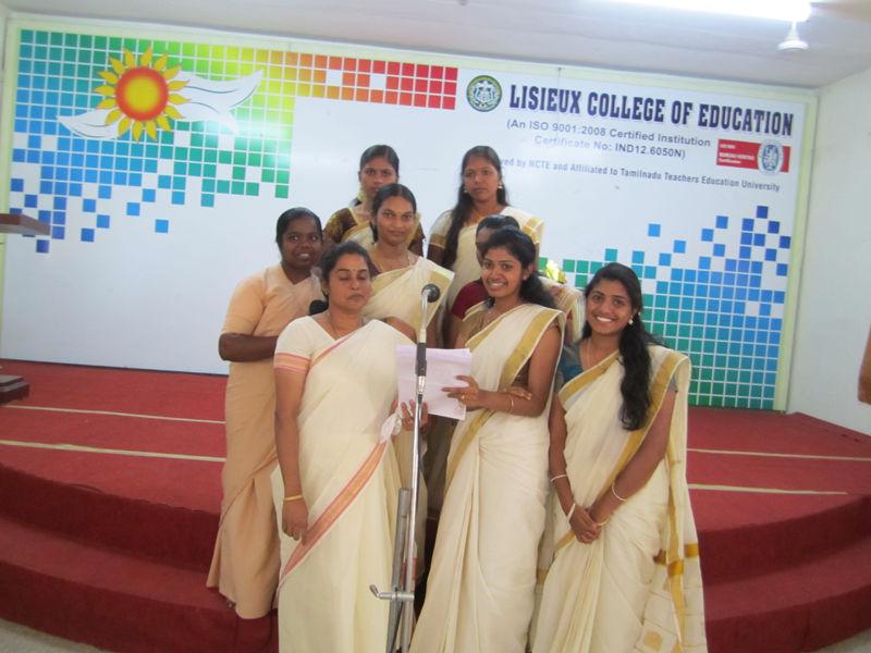 Lisieux College Of Education Coimbatore