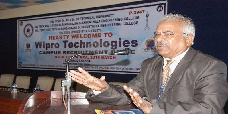 Vel Tech Multi Tech Dr Rangarajan Dr Sakunthala Engineering College, Chennai Tiruvallur
