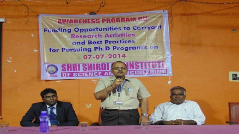 Shri Shirdi Sai Institute Of Science And Engineering (SSSISE) Anantapur