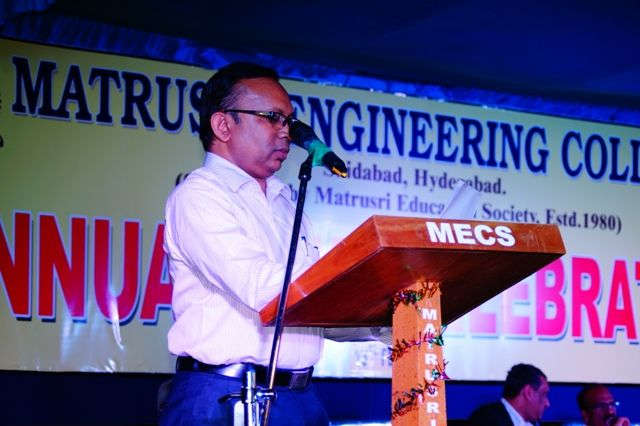 Matrusri Engineering College Hyderabad
