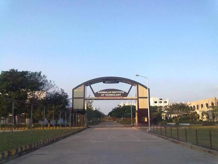 Panimalar Institute Of Technology, Chennai (PIT) Tiruvallur