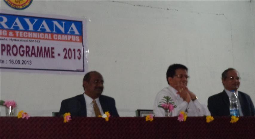 Narayana Engineering And Technical Campus, Hyderabad (NETC) Ranga Reddy
