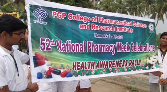 Pgp College Of Pharmaceutical Science And Research Institute Namakkal