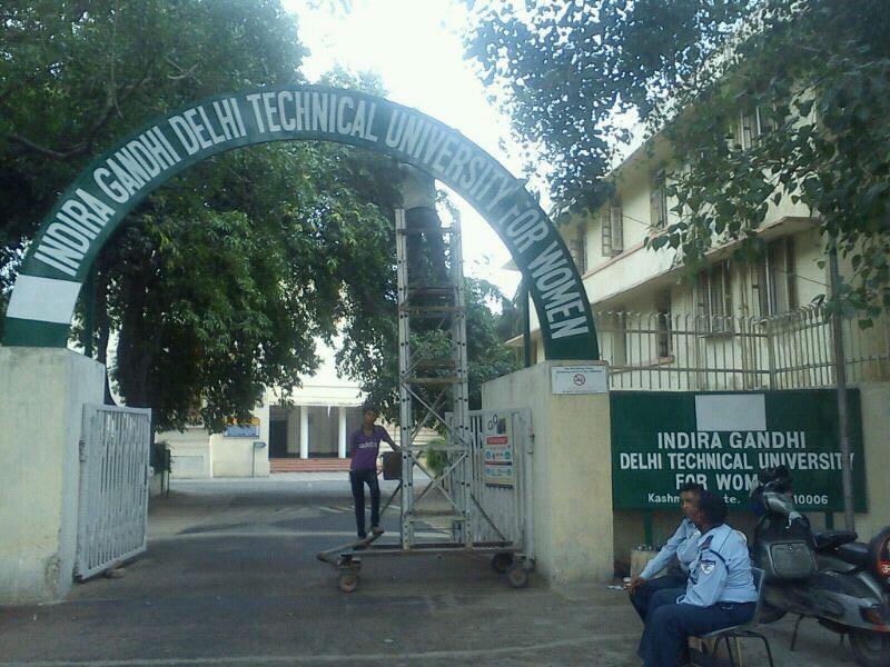 Indira Gandhi Delhi Technical University For Women , New Delhi (IGDTUW) Delhi
