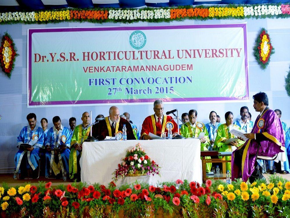 Drysr Horticultural University, Tadepalligudem West Godavari