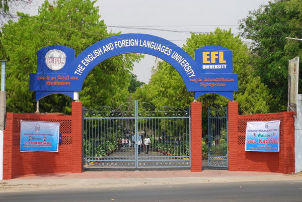 The English And Foreign Languages University (EFLU) Hyderabad