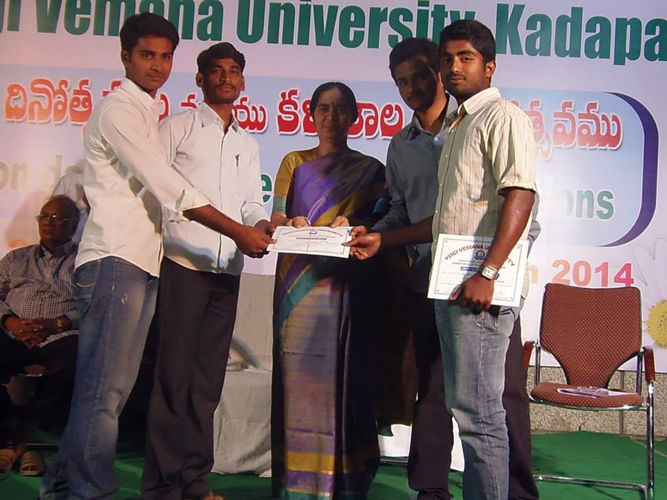 Fee Structure of Yogi Vemana University, Kadapa (YVU) Kadapa