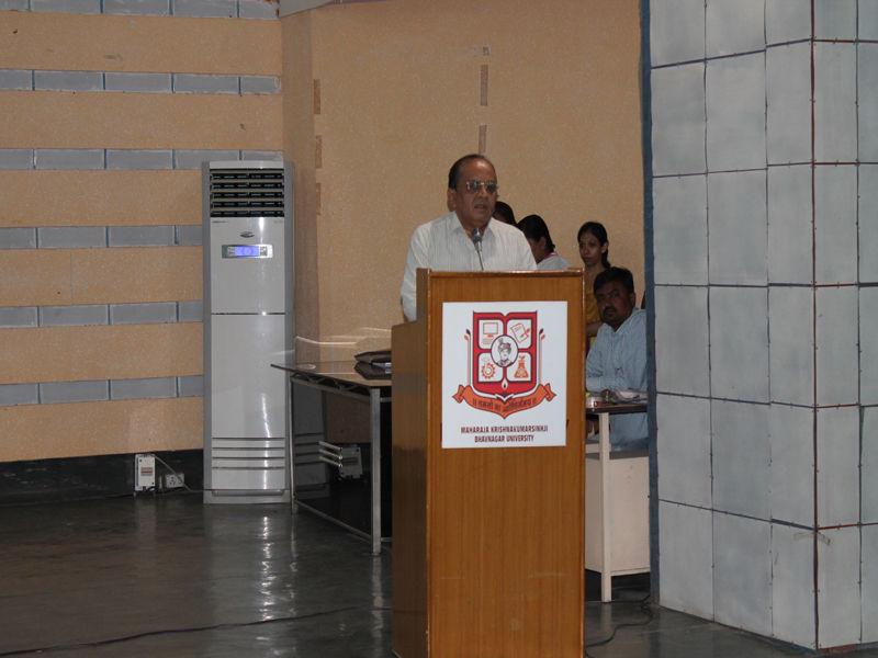 Maharaja Krishnakumar Sinhji Bhavnagar University Bhavnagar