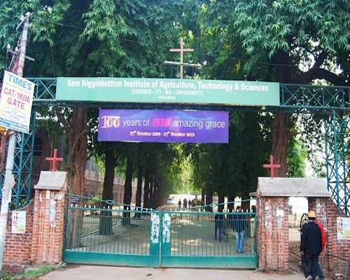 Sam Higginbottom Institute Of Agriculture Technology And Science (SHUATS) Allahabad