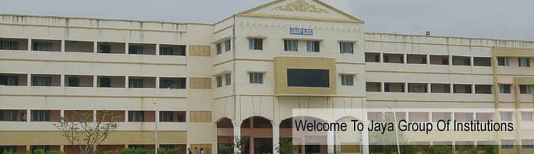 Jaya Engineering College, Chennai (JEC) Tiruvallur