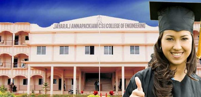Jayaraj Annapackiam Csi College Of Engineering (JACSICE) Thoothukudi