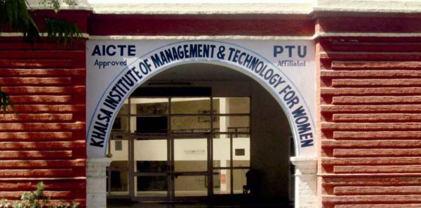 Khalsa Institute Of Management & Technology For Women (KIMT) Ludhiana