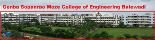 Genba Sopanrao Moze College Of Engineering Pune