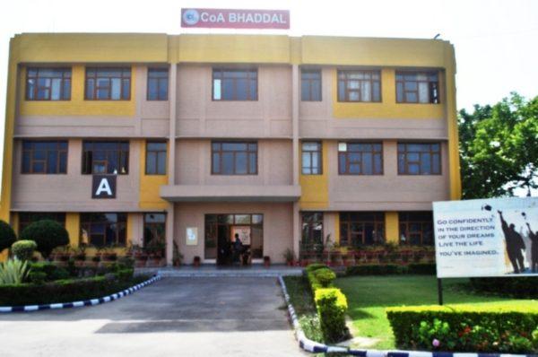 College Of Architecture Iet Bhaddal Rupnagar