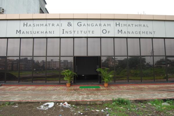 Hashmatrai & Gangaram Himathmal Mansukhani Institute Of Management (HSNC) Thane