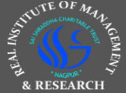 Real Institute of Management and Research logo