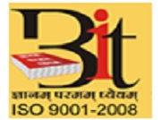 Balaji Institute of Technology logo