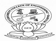 Government College of Engineering, Bargur logo