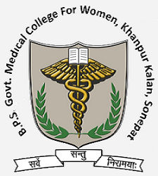 BPS Govt Medical College for Women Khanpur Kalan, Sonepat logo