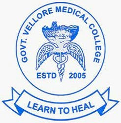 Government Vellore Medical College logo
