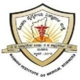 Kodagu Institute of Medical Sciences, Madikeri logo