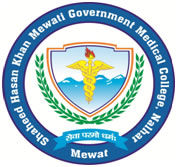 Shaheed Hasan Khan Mewati Government Medical College logo