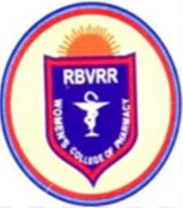 RBVRR Womens College of Pharmacy logo