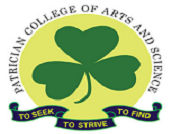 Patrician College of Arts and science logo