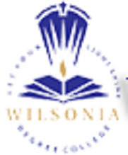 Wilsonia Degree College logo