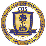 QIS College of Pharmacy Ongole logo