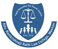 Advocate Ramakrishnaji Rathi Law College logo