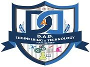 D A Degree Engineering and Technology, Mahemdabad logo