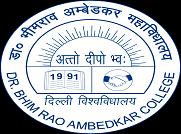 Dr Bhim Rao Ambedkar College logo