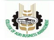 College of Agribusiness Management logo