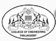 College of Engineering Thalassery logo