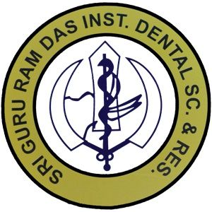 Sri Guru Ram Das Institute of Dental Sciences and Research logo