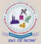 Dhamangaon Education Society's College of Engineering and Technology logo