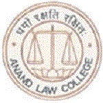 Anand Law College logo