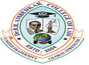 Dr BR Ambedkar College of Law logo