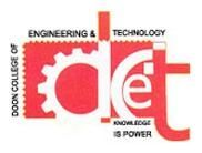 Doon College Of Engineering And Technology Sunderpur logo