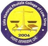 Lala Hans Raj Phutela College Of Law logo