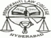 Pendekanti Law College logo