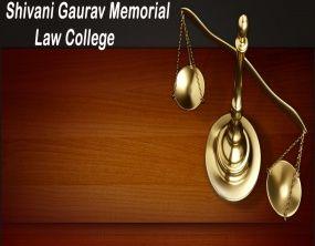 Shivani Gaurav Memorial Law College logo