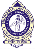Siddharth Law College, Gandhi Nagar logo