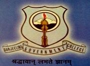 Darjeeling Government College logo