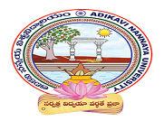 Adikavi Nannaya University, Rajahmundhry logo