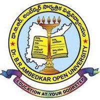 Dr BR Ambedkar Open University logo